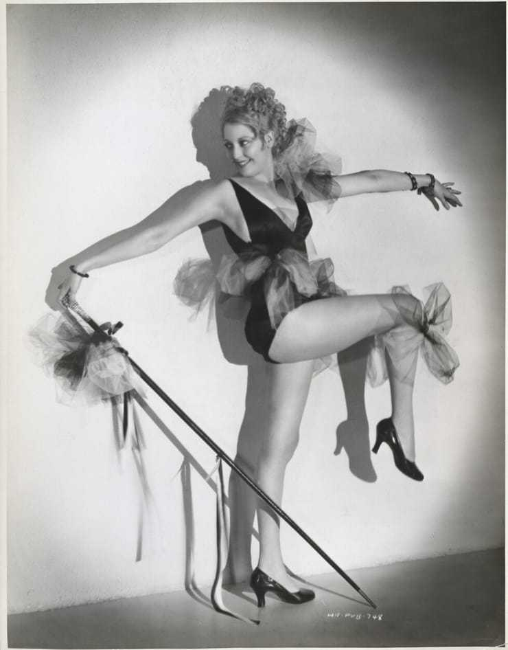 Thelma Todd bare feet
