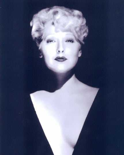 Thelma Todd cleavage