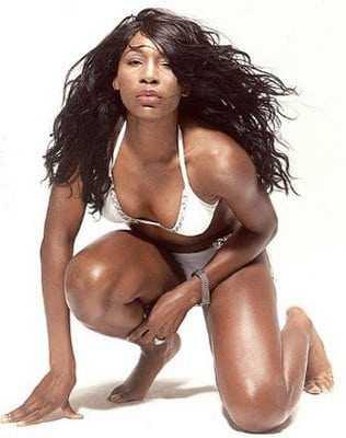 Venus Williams sexy cleavage