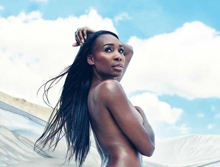Venus Williams topless