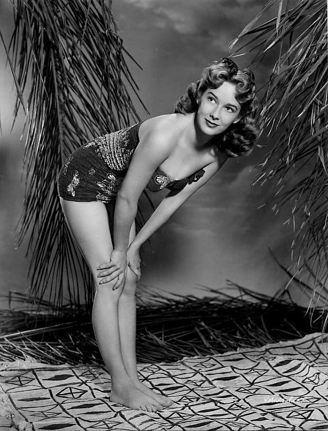 Vera Miles side boobs