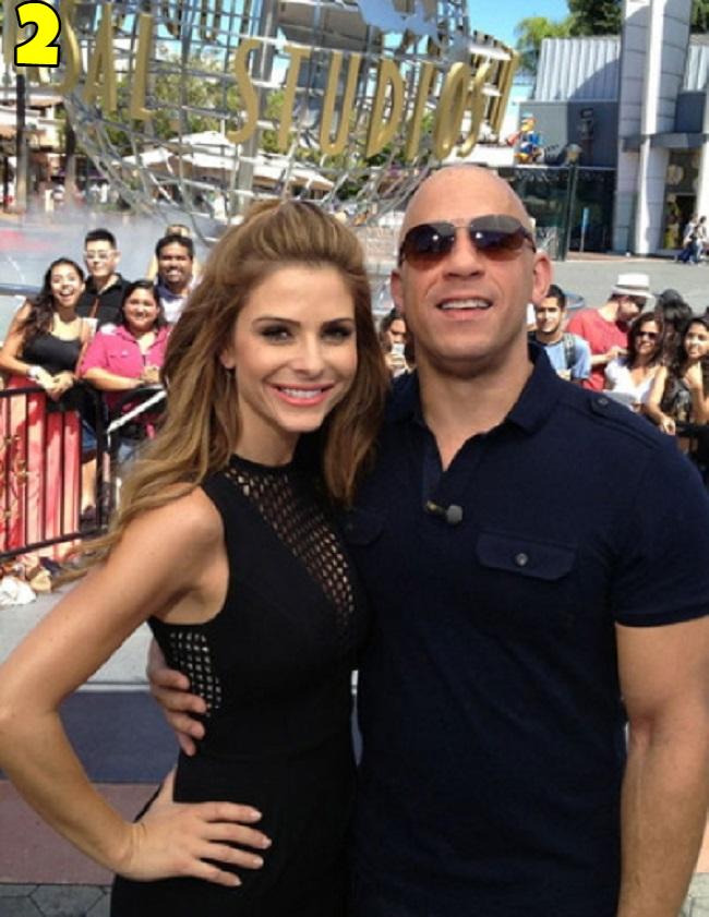 Vin Diesel And Maria Menounos Dating