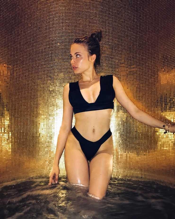 Xenia Tchoumitcheva hot bikini