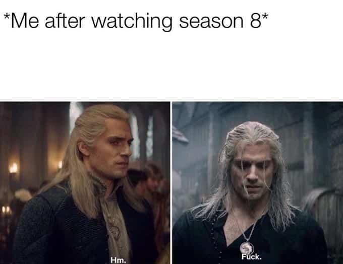 amusing Witcher Memes