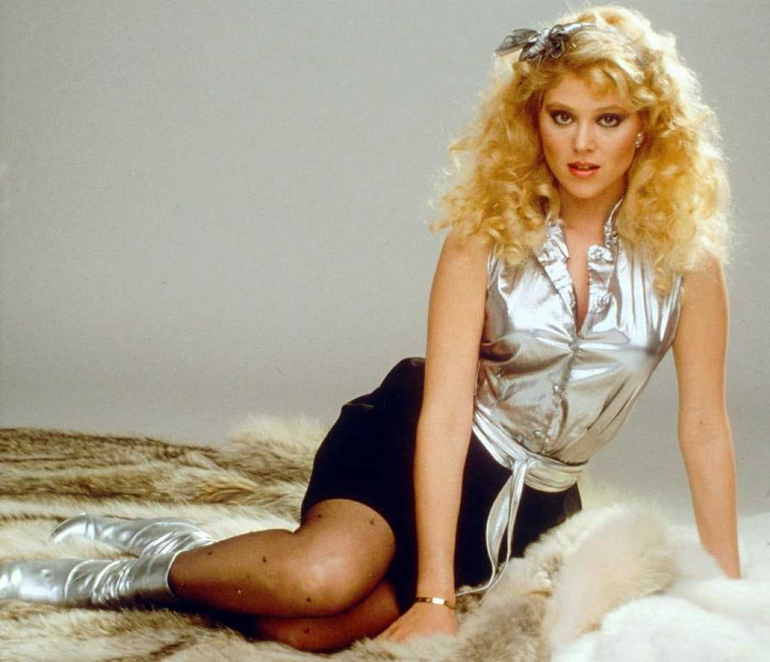 audrey landers awesome