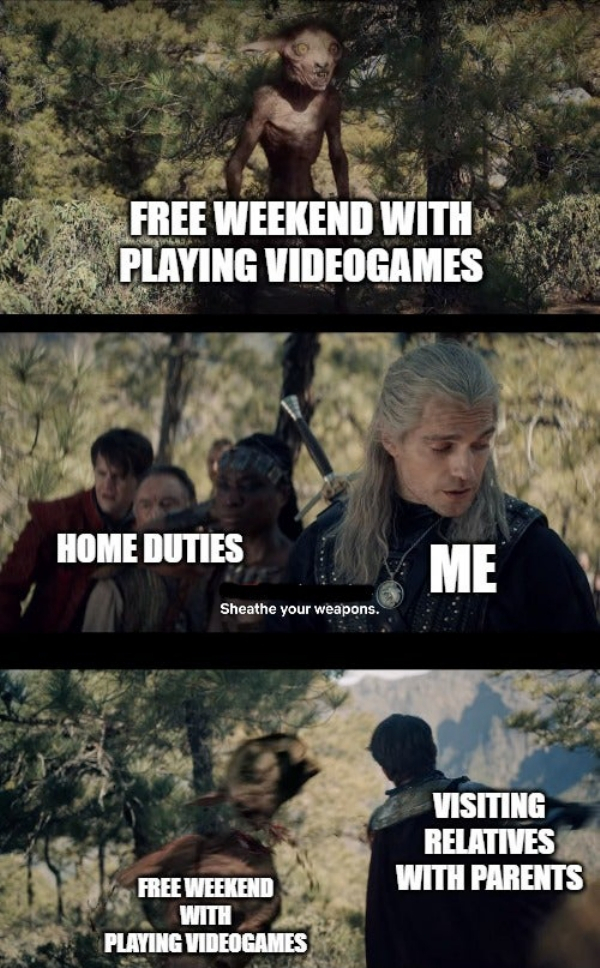 chucklesome Witcher Memes