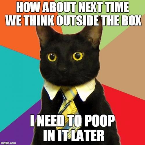 comical Business Cat memes