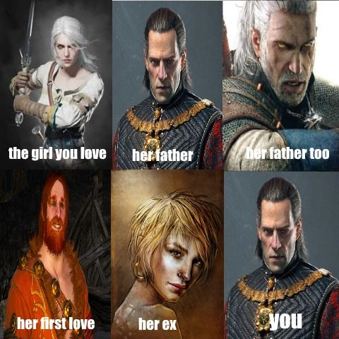 entertaining Witcher Memes