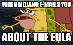 humorous SpongeGar memes