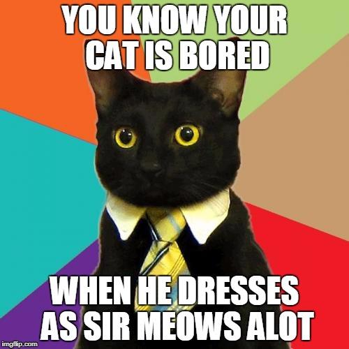 jolly Business Cat memes