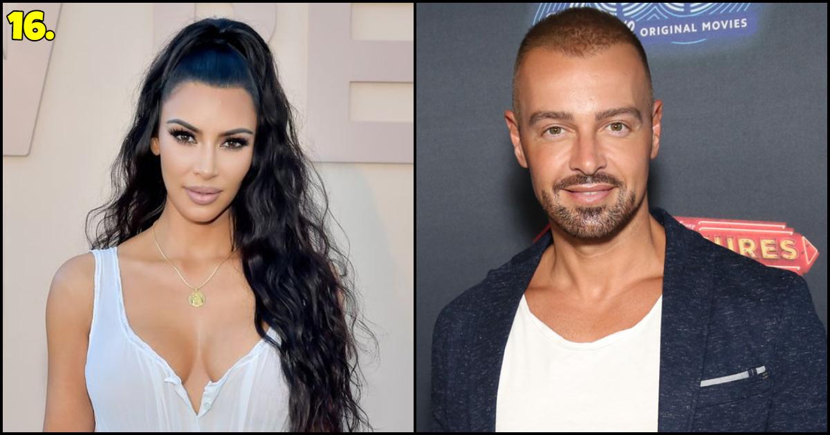 kim kardashian And Joey Lawrence Dating
