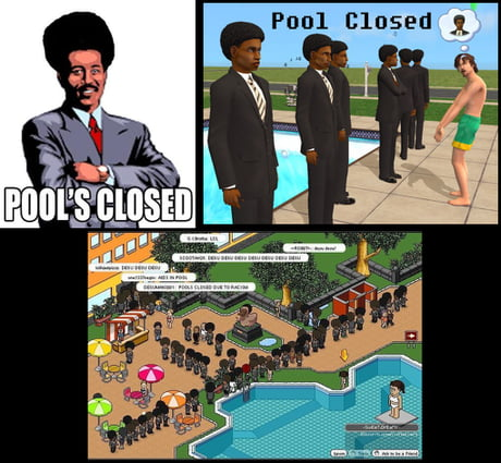 laughable Pool's Closed memes