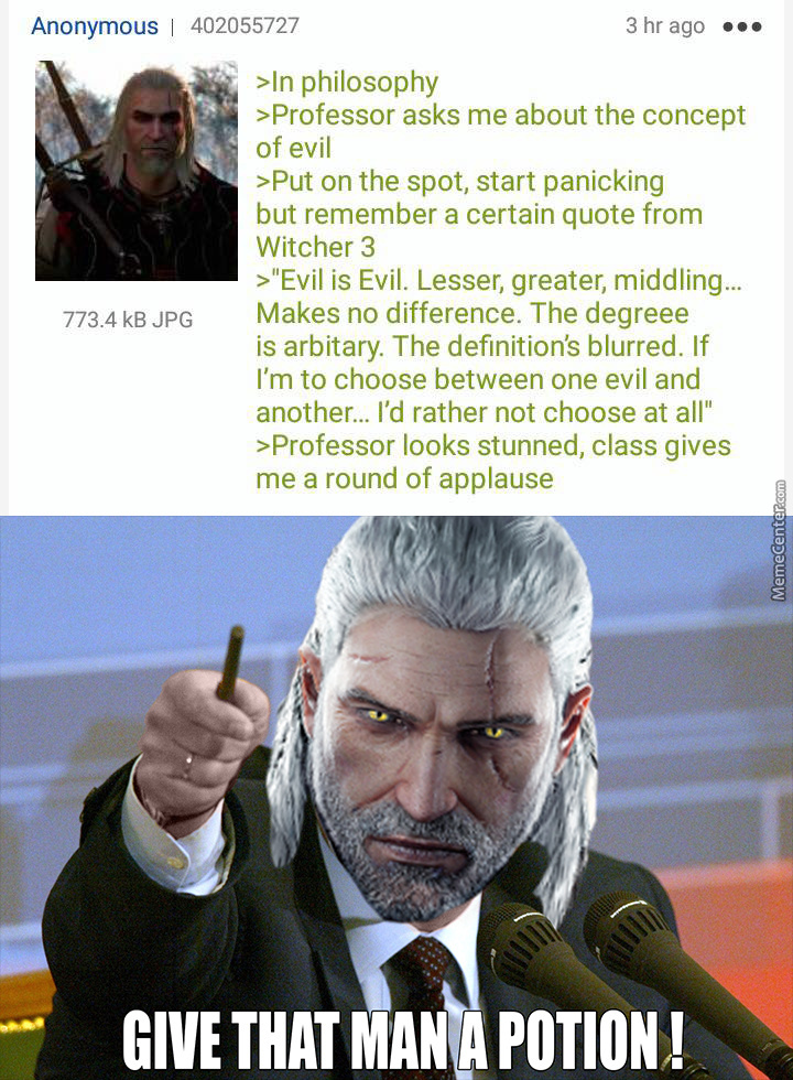 laughable Witcher Memes