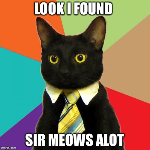rib-tickling Business Cat memes