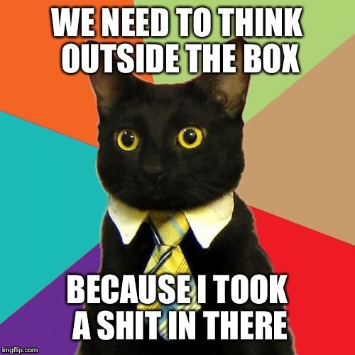 sparkling Business Cat memes
