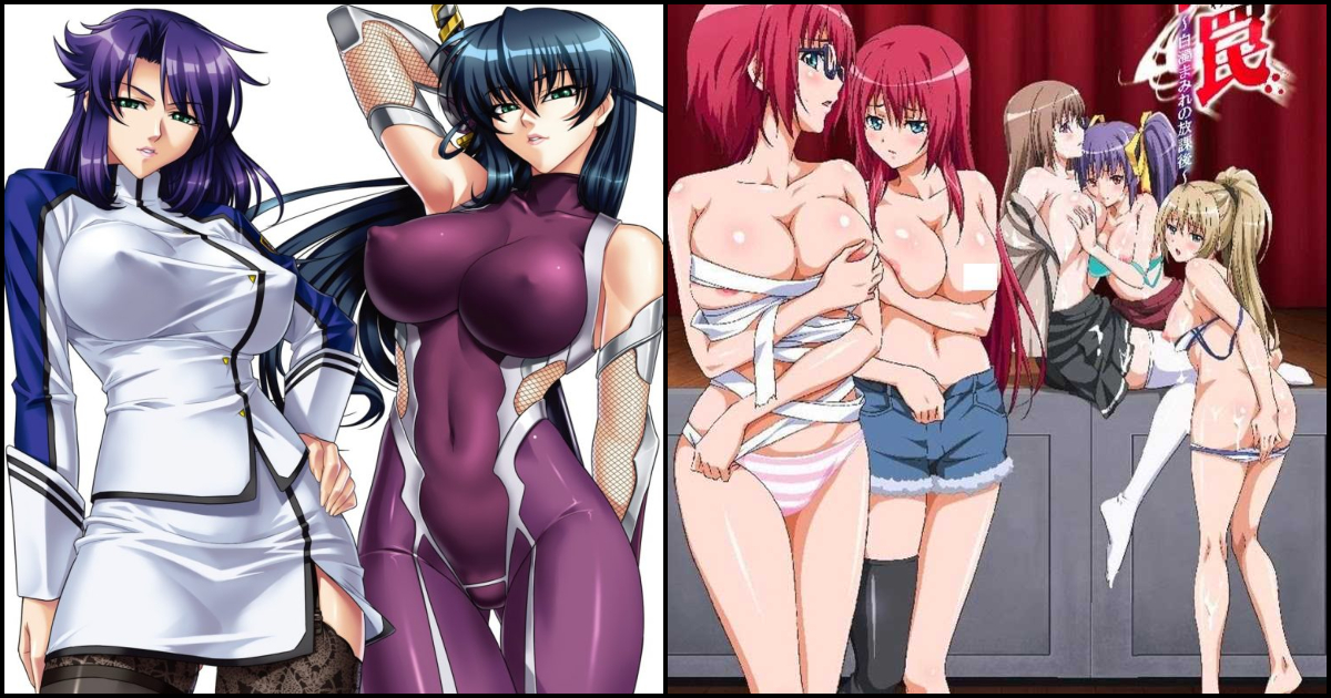 15 Sexiest Gangbang Hentai That Are Too Good