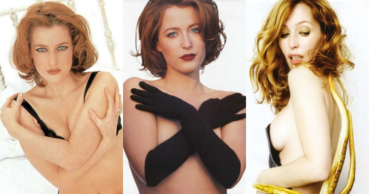 61 Gillian Anderson Sexy Pictures Which Will Shake Your Reality