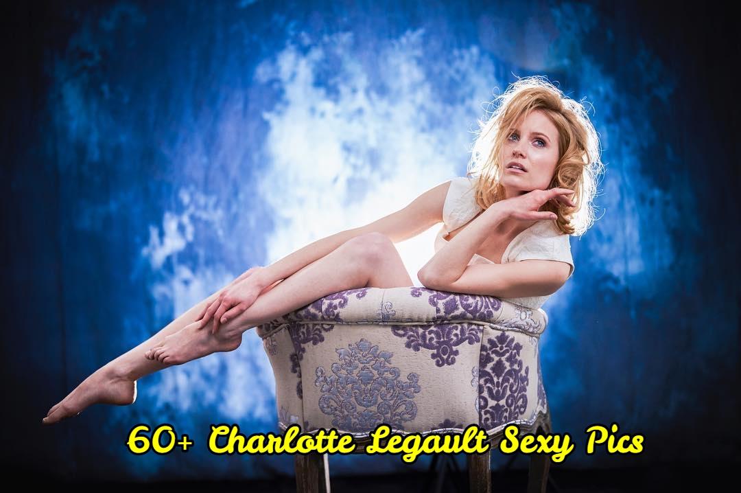 Charlotte Legault pose