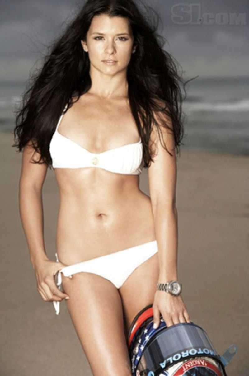 Danica Patrick hot bikini