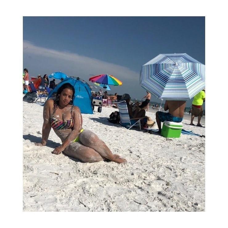 Dascha Polanco bikini