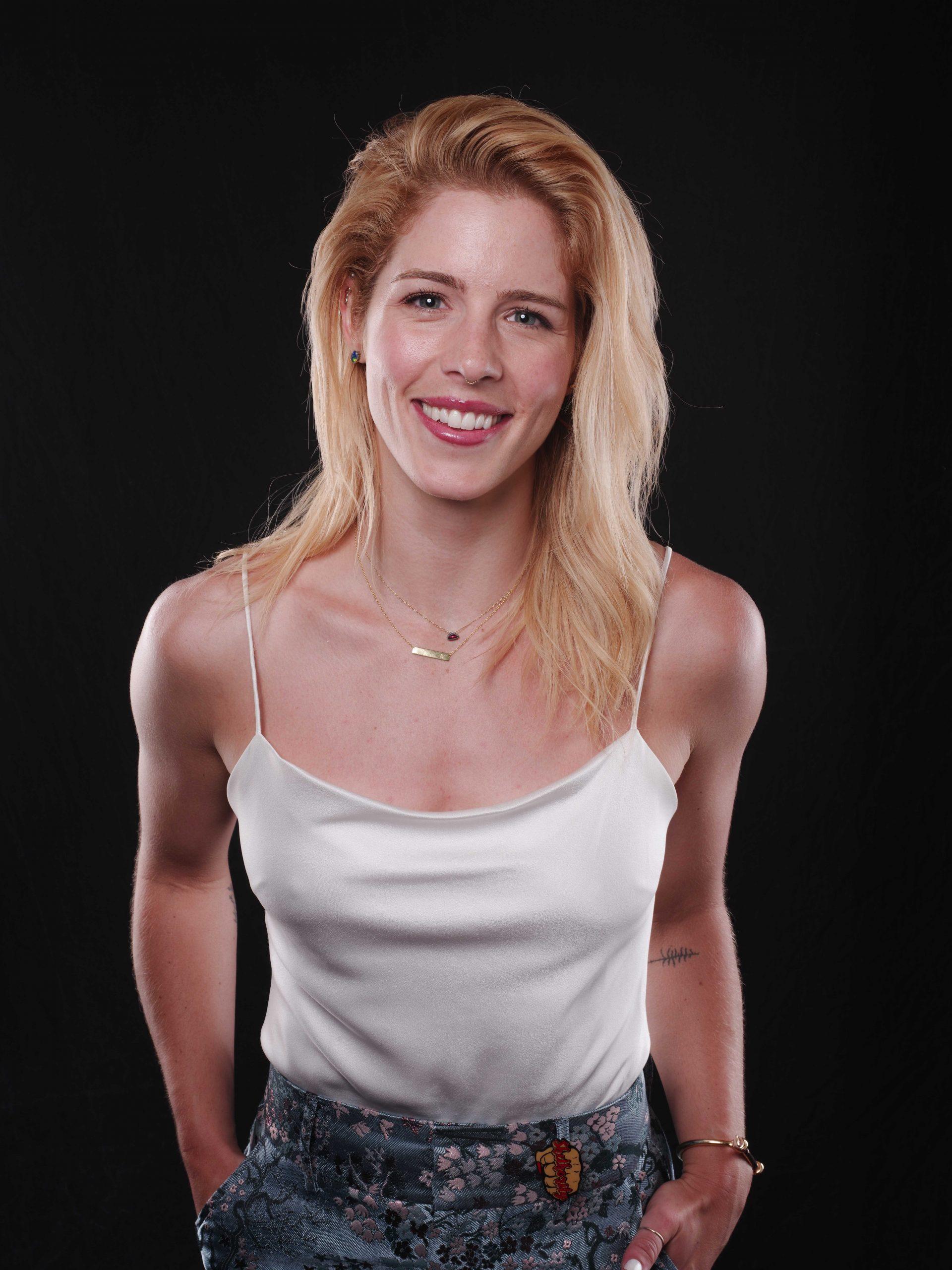 Emily Bett Rickards smile
