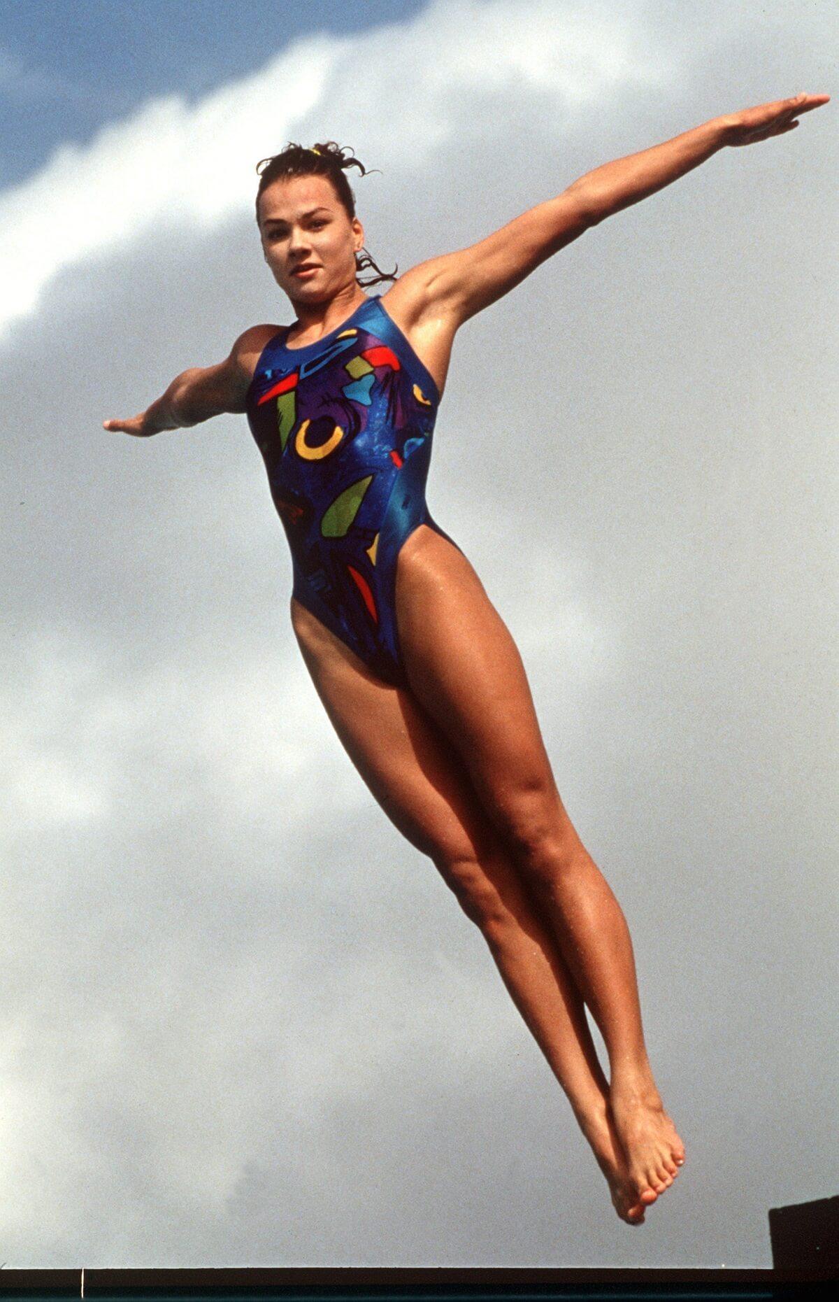 Franziska van Almsick legs