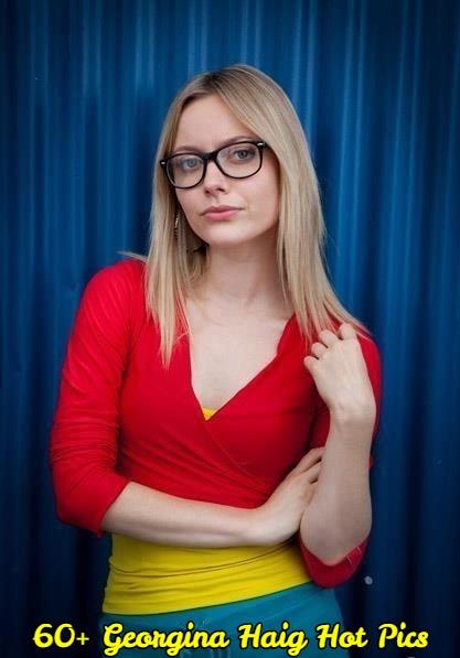 Georgina Haig big boobs cleavage