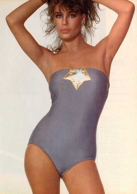 Kelly LeBrock bikini