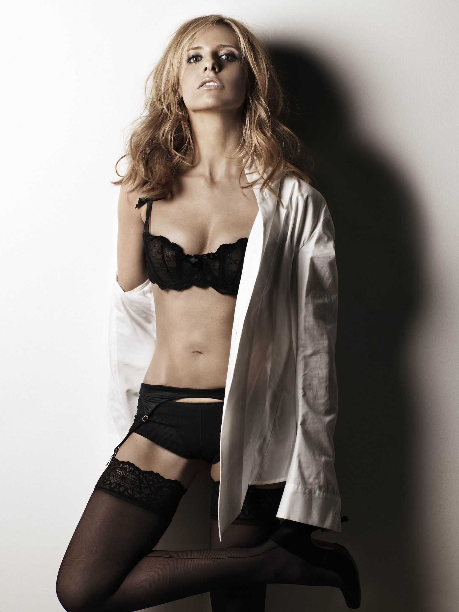 Sarah Michelle Gellar lingerie