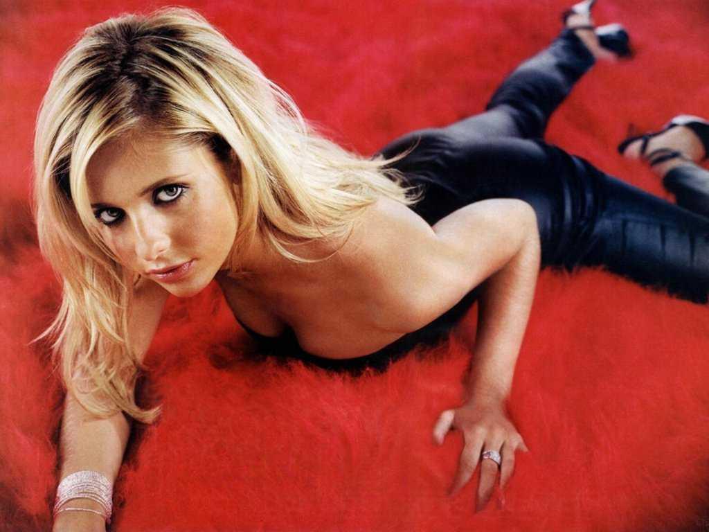 Sarah Michelle Gellar topless