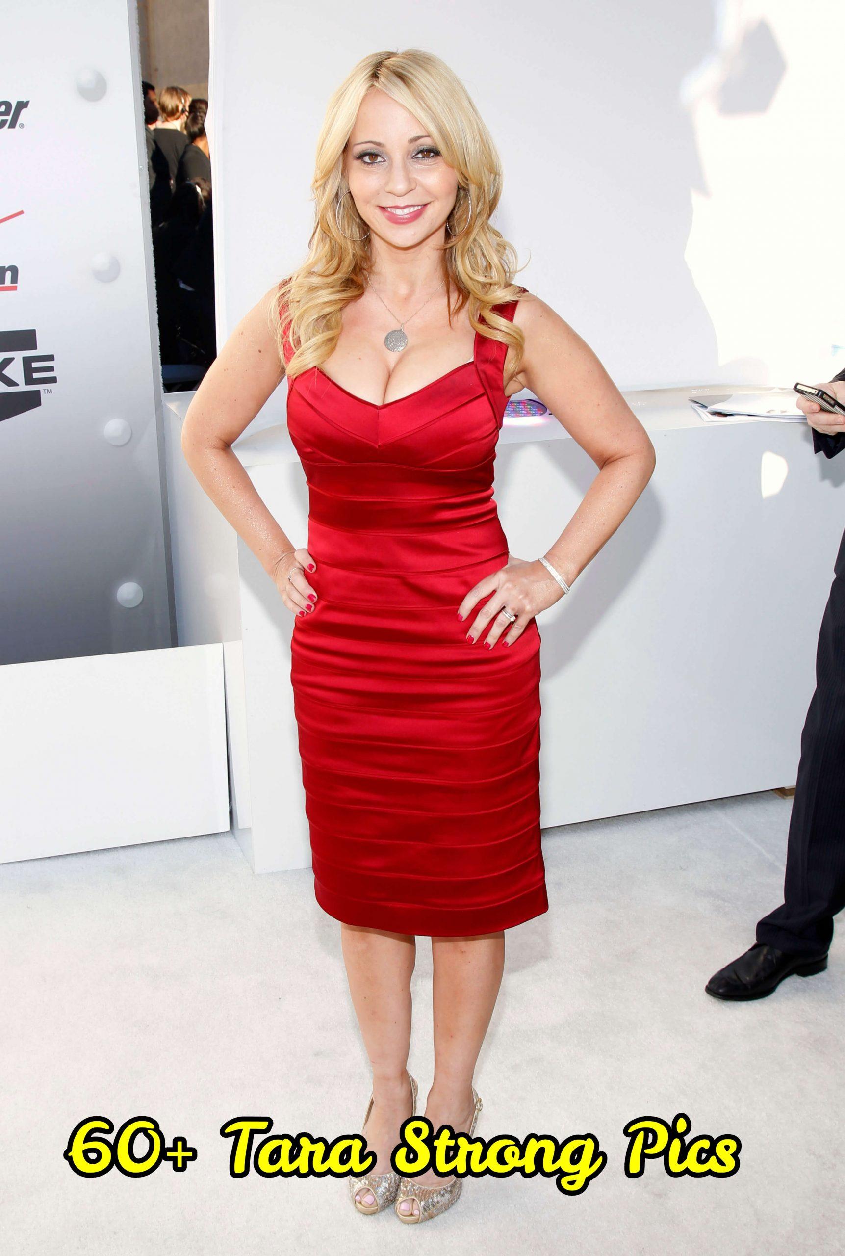 Tara-Strong-sexy-red-dress