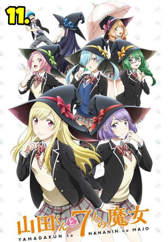 Yamada-kun to 7nin no Majo (Yamada-kun and the Seven Witches)
