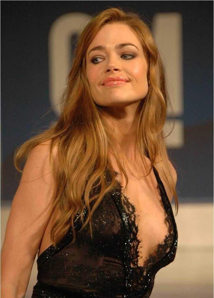 denise richards cleavage