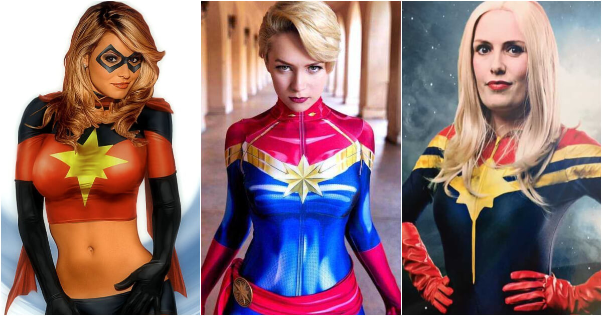 61 Captain Marvel Sexy Pictures Are Gorgeously Attractive Geeks