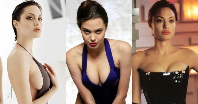 61 Hottest Angelina Jolie Boobs Pictures You Just Want To Nestle Between Them
