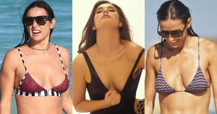 61 Hottest Demi Moore Boobs Pictures A Visual Treat To Make Your Day