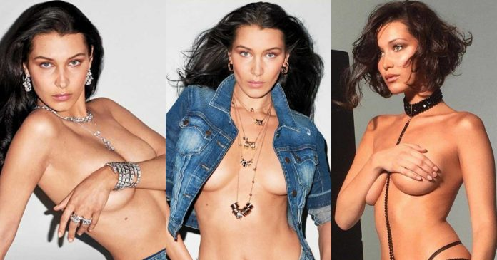 61 Sexiest Bella Hadid Boobs Pictures Are A Feast For Your Eyes