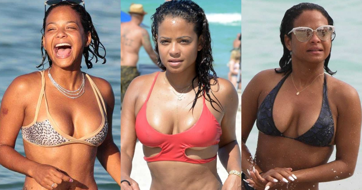 61 Sexiest Christina Milian Boobs Pictures Will Have You Staring At Them All Day Long