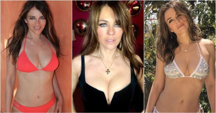 61 Sexiest Elizabeth Hurley Boobs Pictures Will Have You Staring At Them All Day Long
