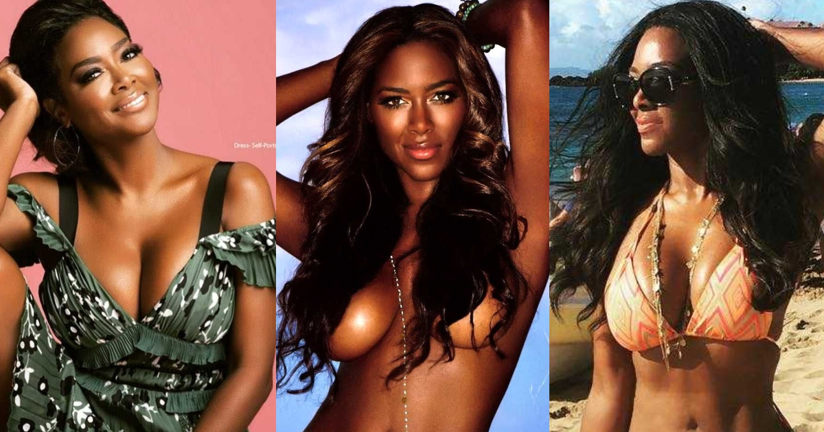 61 Sexiest Kenya Moore Boobs Pictures Show Off Her Awesome Bosoms