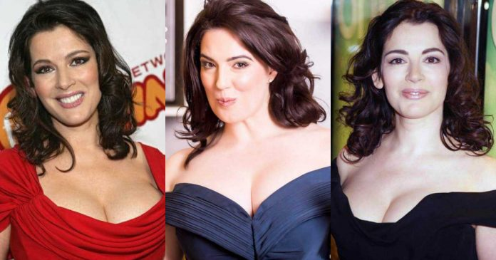61 Sexiest Nigella Lawson Boobs Pictures Are Just The Right Size To Look And Enjoy