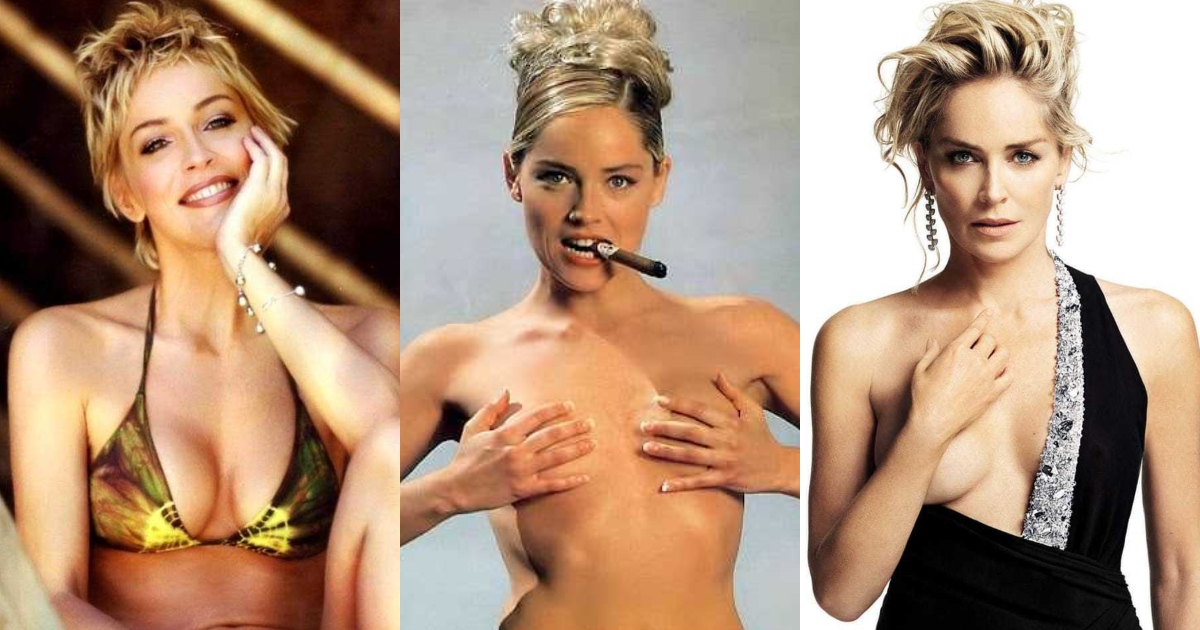 61 Sexiest Sharon Stone Boobs Pictures Will Have You Staring At Them All Day Long