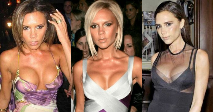 61 Sexiest Victoria Beckham Boobs Pictures That Compliment Her Neck Nape