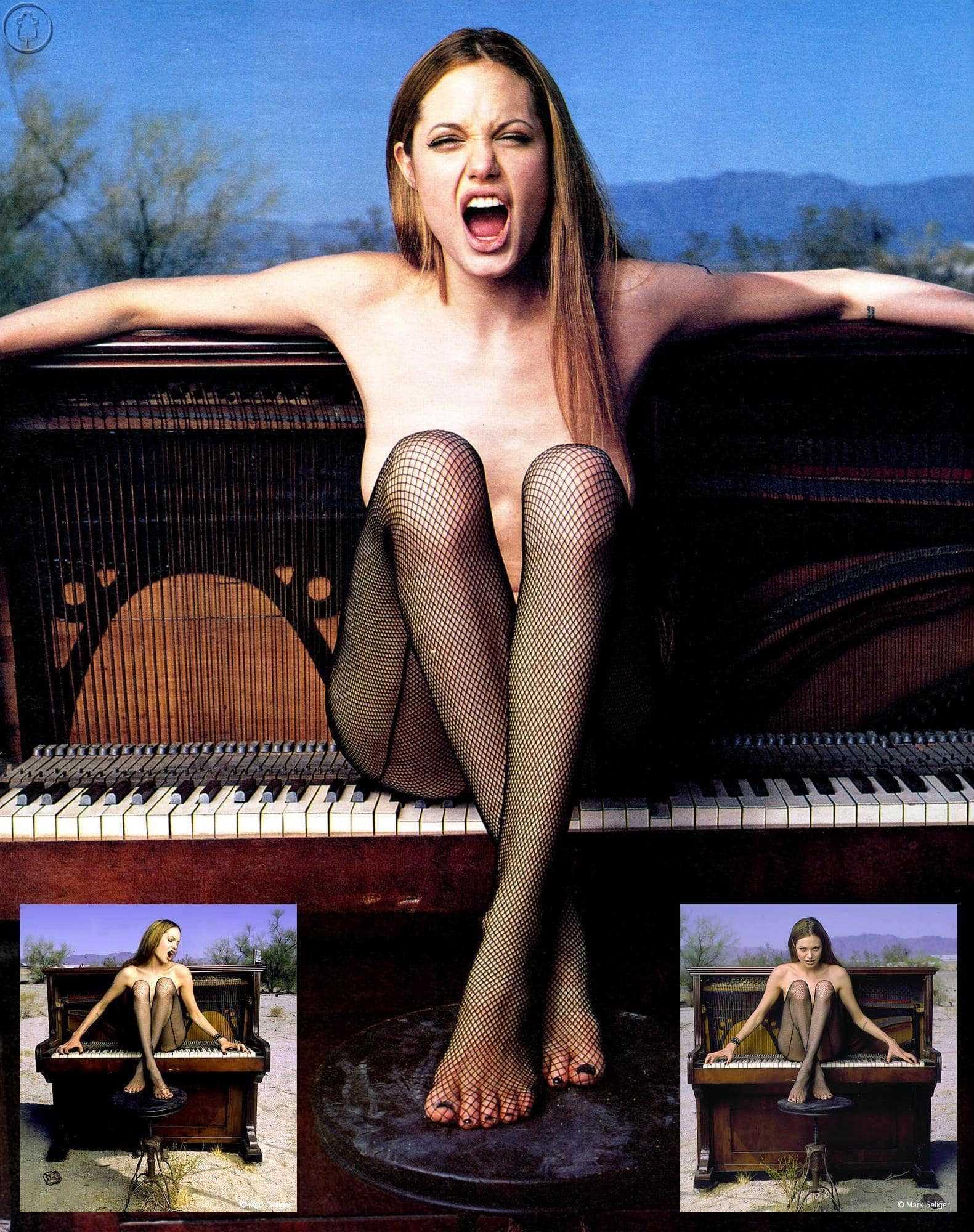 Angelina Jolie feet pic