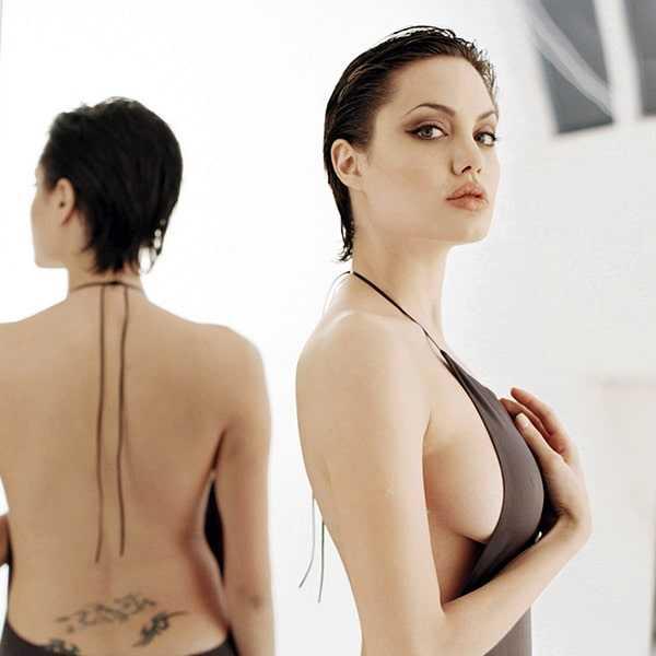 Angelina Jolie tits pic