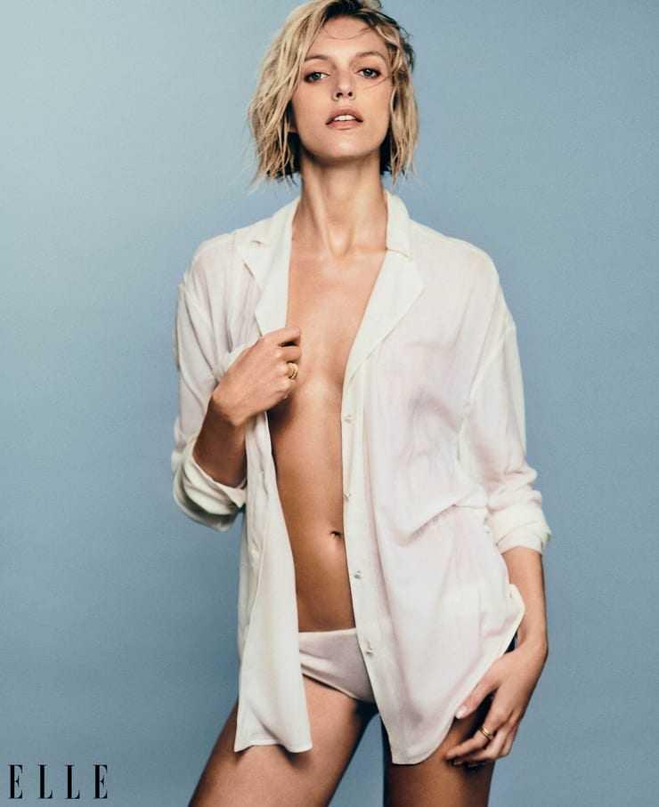 Anja Rubik hot look