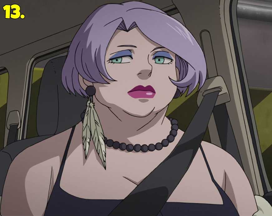 Bertha from Darker Than Black