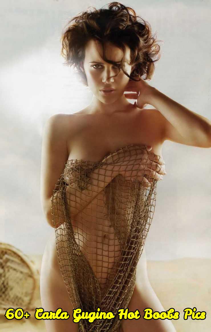 Carla Gugino hot boobs pics