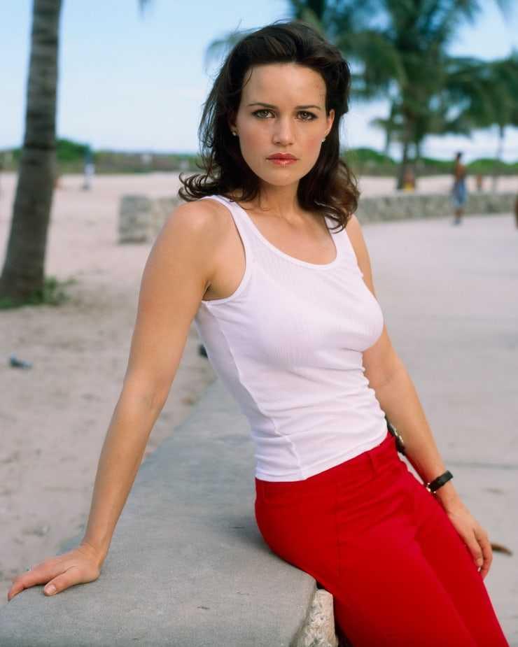 Carla Gugino hot look