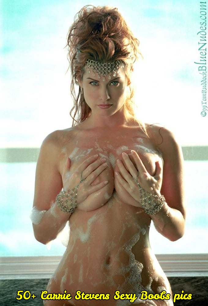 Carrie Stevens sexy topless pic